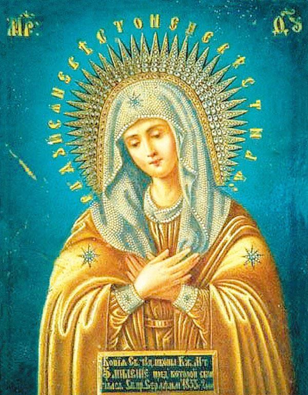 К чему снится икона Божьей Матери