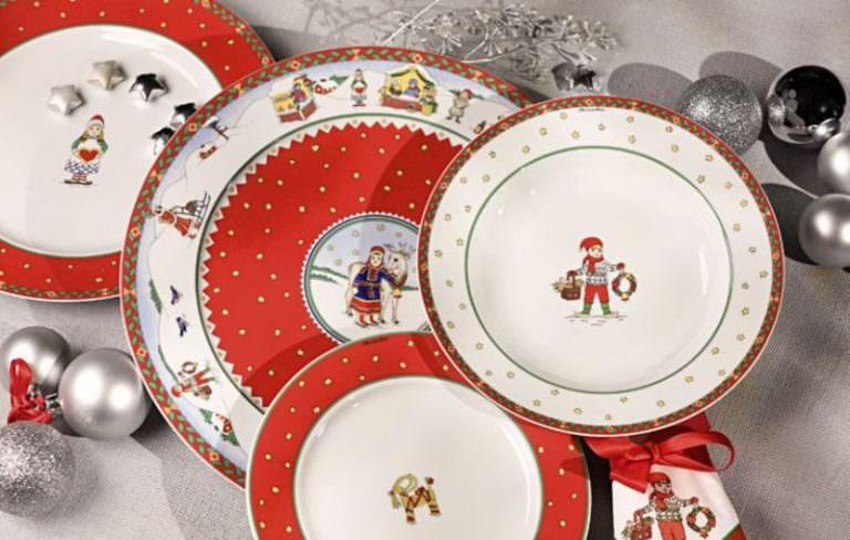 Одноразовая посуда к новому году