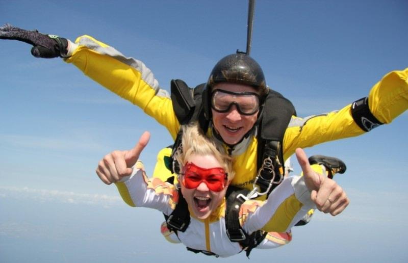Как толкует сонник прыгать с парашютом