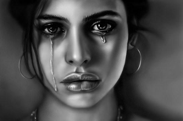 человек который не показывает свои слёзы