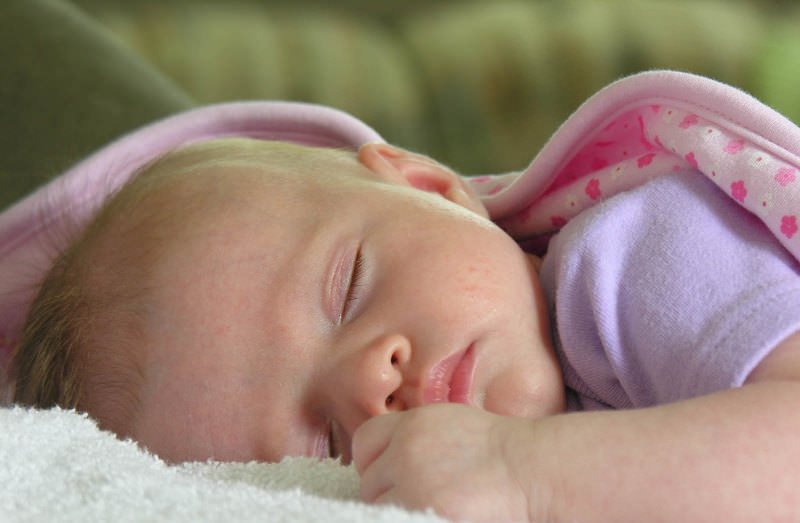 Если беременная видит во сне новорожденную девочку