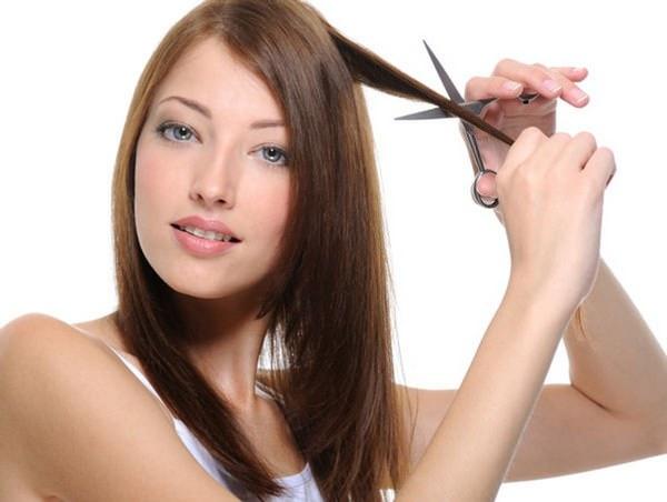 Самой себе подстричь волосы во сне
