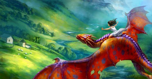 К чему снится дракон: кто-то перечитал фэнтези?