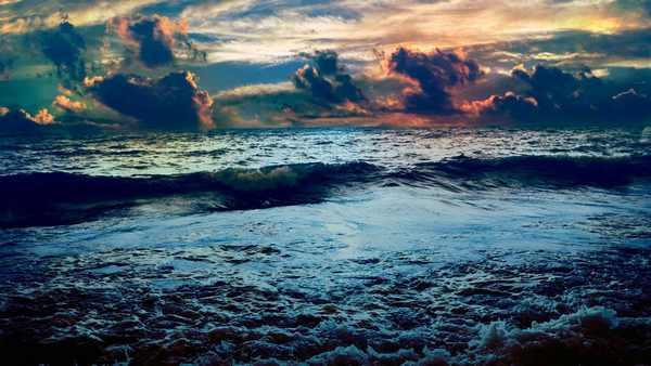 Бушующее море во сне к чему снится